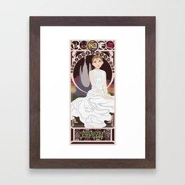 Childlike Empress Nouveau - Neverending Story Framed Art Print