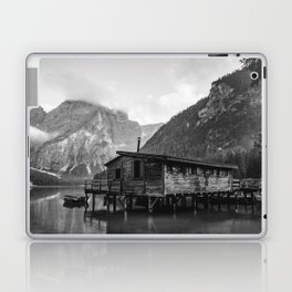 House on Water (Black and White) Laptop & iPad Skin
