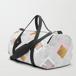 Rhombus geometric Duffle Bag