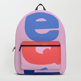 Mod Quebec Travel Poster Backpack