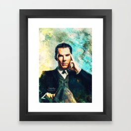 Man Out Of His Time Framed Art Print