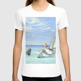Edward Hopper Ground Swell 1939 Painting T-shirt