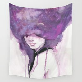 Stars in Her Eyes Wall Tapestry