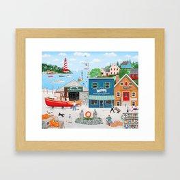 Where the Buoys Are Framed Art Print