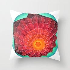 Hidden but Sometimes Seen Throw Pillow