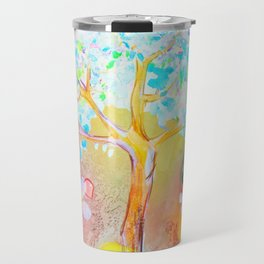 Tree of life painting Travel Mug