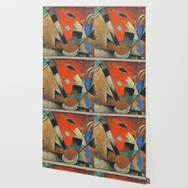 "Franz Marc ""Abstrakte Komposition"" Wallpaper"