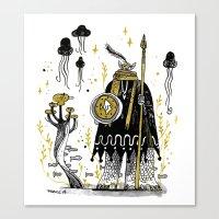 atlanta Canvas Prints featuring ATLANTA by tarmasz
