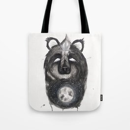 Selene the Moon Bear. Tote Bag