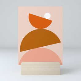 Abstraction_Color_Summer_Playful Mini Art Print