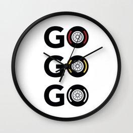 Go Go Go Wall Clock