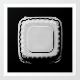 Recyclable Take Out Food Box Art Print
