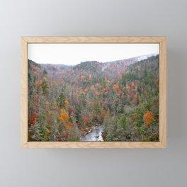 Fall Forest, Horizontal Framed Mini Art Print