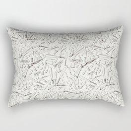 Apocalyptic Weapons  Rectangular Pillow