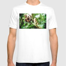 Fern White MEDIUM Mens Fitted Tee