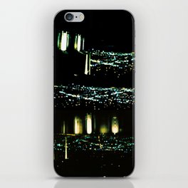 Los Angeles through a pinhole iPhone Skin