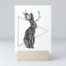 Jackalope - Spirit Animal Mini Art Print