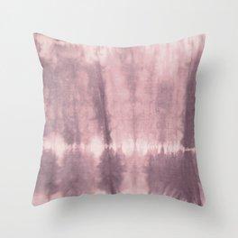 Tye Dye Blush Throw Pillow