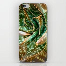 Aloe Saponaria, Soap Aloe Maculata iPhone Skin