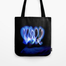 GLOWSTICKS IN THE BEDROOM Tote Bag