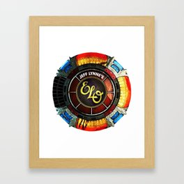 Great Reformed ELO By Jeff Lynne Framed Art Print