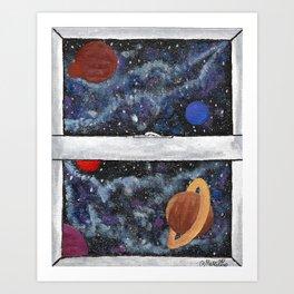 Window To The Galaxy Art Print