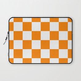 Orange and White Laptop Sleeve