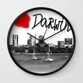 I love Darwin Wall Clock