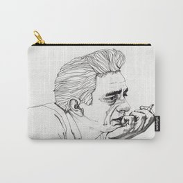 Man in Black Carry-All Pouch