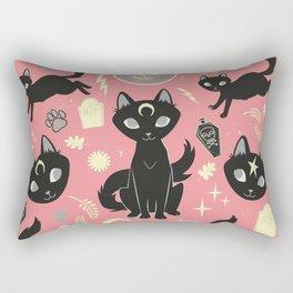 Witch Babies Rectangular Pillow