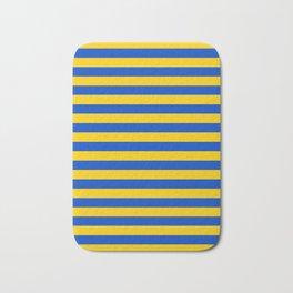 Asturias Sweden Ukraine European Union flag stripes Bath Mat