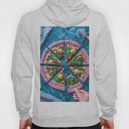Pink Pizza Hoody