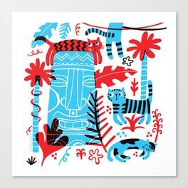 Tropicats Canvas Print