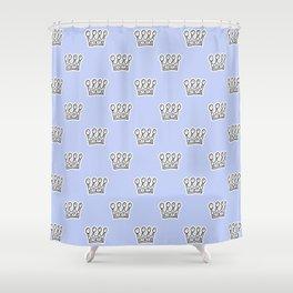 Crown pattern Shower Curtain