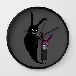 My Inner Bunny Wall Clock