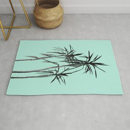 Palm Trees - Mint Cali Summer Vibes #1 #decor #art #society6 Rug