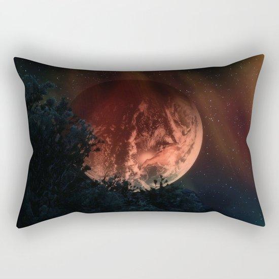 Lazy Earth Rectangular Pillow