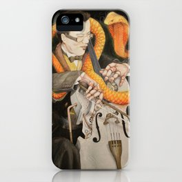 The Puppet and the Rhythm iPhone Case