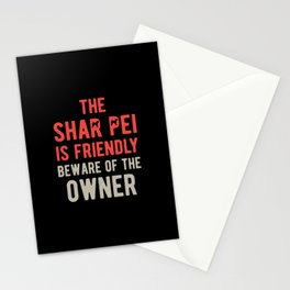 Funny Shar Pei Stationery Cards