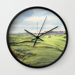 Royal Troon Golf Course Scotland Wall Clock