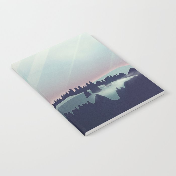 Castle in the Mountains Notebook