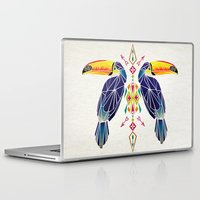 toucan Laptop & iPad Skins featuring toucan by Manoou