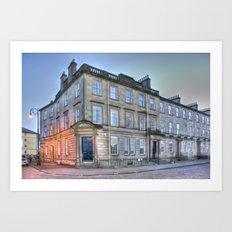 Carlton Street Glasgow  Art Print