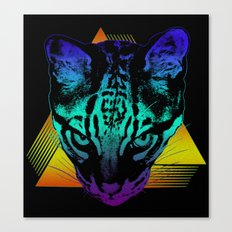 Rad Ocelot Canvas Print