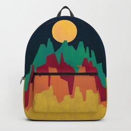 Rocky Landscape Backpack