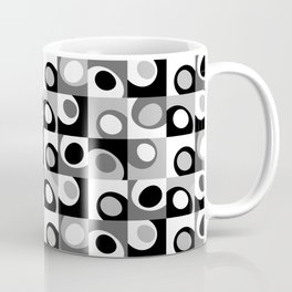 Thumbs in Squares Coffee Mug
