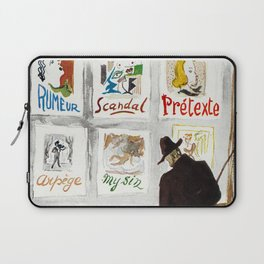 The Art Collector Laptop Sleeve