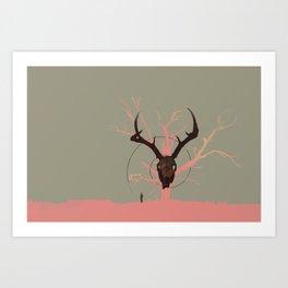 Killing Time Between Scenes Art Print