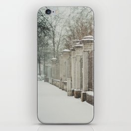 snow in wels (3) iPhone Skin