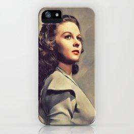 Susan Haward, Vintage Actress iPhone Case